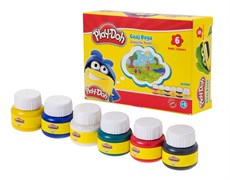 Play-Doh 6 Renk Guaj Boya 30ml